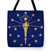 Indiana State Flag Tote Bag