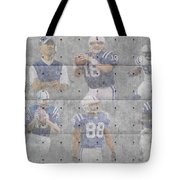 Indianapolis Colts Legends Tote Bag