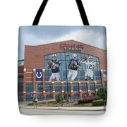 Indianapolis Colts Lucas Oil Stadium Tote Bag