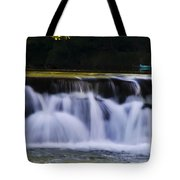 Indianhead Dam - Montgomery County Pa. Tote Bag