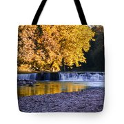 Indianhead Dam - Perkiomen Creek Tote Bag