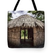 Indigenous Tribe Huts In Puer Tote Bag