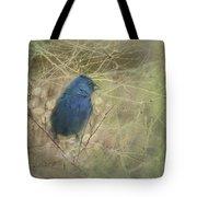Indigo Blue Tote Bag