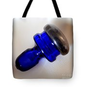 Indigo Bottle Stopper Tote Bag