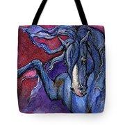 Indigo Horse 1 Tote Bag