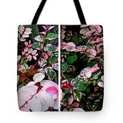 Indigo Plant In Stereo Tote Bag
