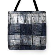 Indigo Squares 1 Of 5 Tote Bag