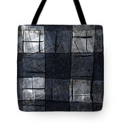 Indigo Squares 4 Of 5 Tote Bag