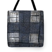 Indigo Squares 5 Of 5 Tote Bag