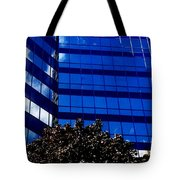 Indigo Tower Tote Bag