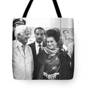 Indira Gandhi At Jfk Airport Tote Bag