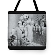 The Cyclist Tote Bag
