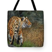 Indo-chinese Tiger Tote Bag