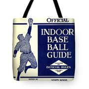 Indoor Base Ball Guide 1907 II Tote Bag by American Sports Publishing