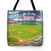 Indoors At Chase Field Tote Bag