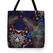 Indra's Web Tote Bag