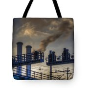 Industrail Sunset Tote Bag