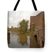 Industrial Architecture Tote Bag