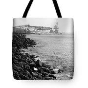 Industrial Coastline Tote Bag