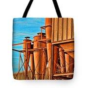 Industrial Detail Photoart Tote Bag
