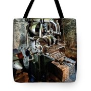 Industrial Gear Cutting Machine Tote Bag
