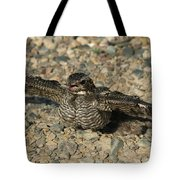 Industrial Nighthawk Tote Bag