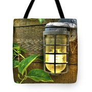 Industrial Outdoor Light Tote Bag