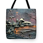 Industrial Port-part 1 By Rafi Talby Tote Bag