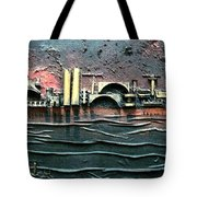 Industrial Port-part 2 By Rafi Talby Tote Bag