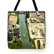 Industrial Riverside Tote Bag