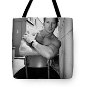 Industrial Strength Bw Palm Springs Tote Bag
