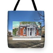 Industrial Trust Company In Warren Rhode Island Tote Bag
