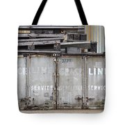 Industrial Wasteland Tote Bag