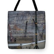 Industry Along The Ohio River Tote Bag