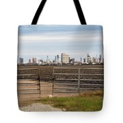 Industry At Sunrise Tote Bag