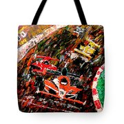 Indy 500  Tote Bag by Mark Moore