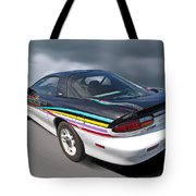 Indy 500 Pace Car 1993 - Camaro Z28 Tote Bag by Gill Billington