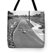 Indy 500 Parade Lap Tote Bag
