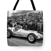 Indy 500 Race Car Tote Bag