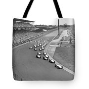Indy 500 Race Start Tote Bag