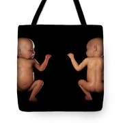 Infant Anatomy Tote Bag
