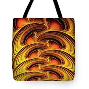 Inferno Tote Bag by Anastasiya Malakhova