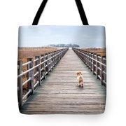 Infinite Boardwalk Run Tote Bag