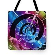 Infinite Time Rainbow 1 Tote Bag
