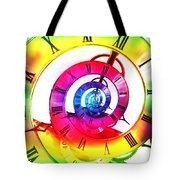 Infinite Time Rainbow 3 Tote Bag