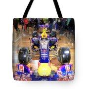 Infiniti Red Bull Formula One Racing Car  Tote Bag