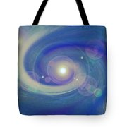 Infinity Blue Tote Bag