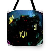 Infinity Cityscape 1  Tote Bag