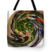 Infinity Flower Spiral 1 Tote Bag
