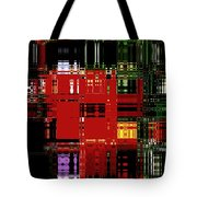 Infinity Jewel Mosic Horizontal 3 Tote Bag